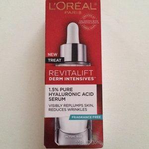 LOREAL RIVITALIFT HYALURONIC ACID SERUM-NEW!